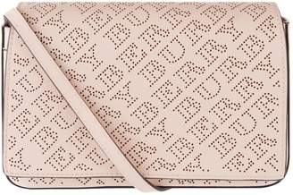 Burberry Perforated Logo Wallet Bag