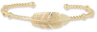 Gas Bijoux Penna Leaf Bangle Bracelet
