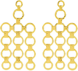 Henri Bendel Hammered Chandelier Earring