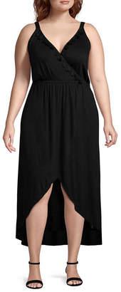 Spense Sleeveless Maxi Dress - Plus