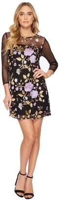 BB Dakota Jaelyn Embroidered Mesh Dress Women's Dress