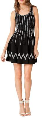 Hale Bob Fit and Flare Dress