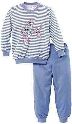 Calida Girl's Ocean Sweetie Bündchen Pyjama Sets,(Manufacturer Size: 80 cm)