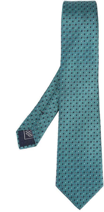 BrioniBrioni linear shape tie