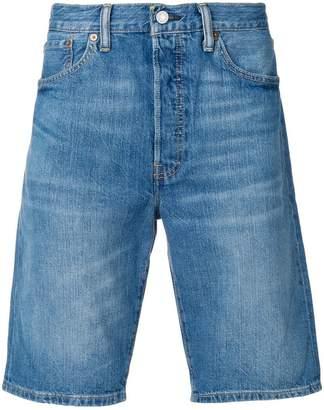 Levi's knee length denim shorts