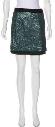 Robert Rodriguez Embellished Mini Skirt
