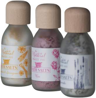 The Natural Beauty Pot - Aromatherapy Floral Bath Salts Gift Set