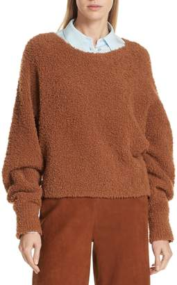 Vince Teddy Crop Sweater