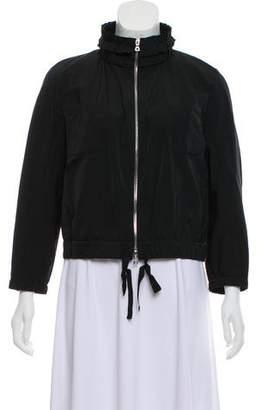 Nina Ricci Ruffled Zip-Up Jacket