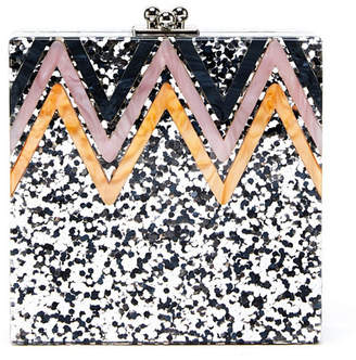 Like Dreams Ginger Glitter Evening Clutch