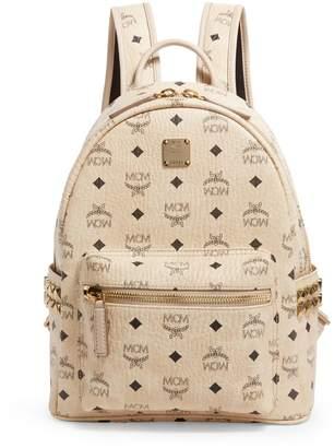 MCM Small Studded Stark Backpack