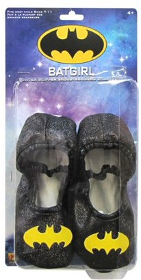 DC Batgirl Glitter Shoes