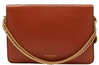 Givenchy Cross3 Leather Cross Body Bag - Womens - Tan