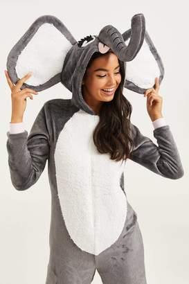 Ardene Elephant Onesie Costume