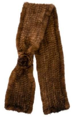 La Fiorentina Knitted Mink Stole