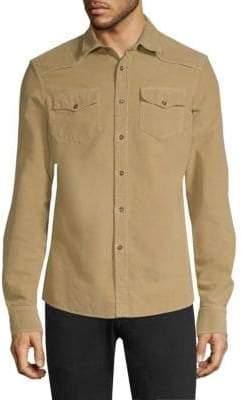Tomas Maier Soft Corduroy Shirt