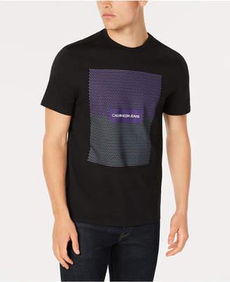 Calvin Klein Jeans Men's Colorblocked Graphic T-Shirt