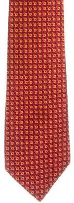 Charvet Silk Jacquard Tie