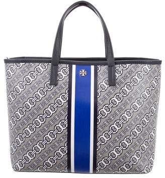 Tory Burch Small Link Canvas Tote