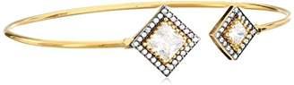Azaara Florentine Athena Adjustable Cuff Bracelet