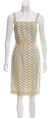 Tibi Printed Sleeveless Dress