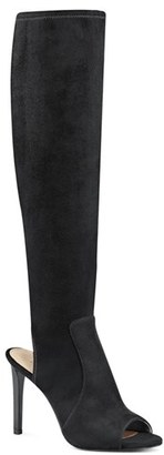 Women's Nine West 'Lettie' Peep Toe Boot $148.95 thestylecure.com