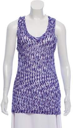 Missoni Crochet Knit Top