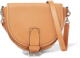 J.W.Anderson Bike Small Smooth And Textured-leather Shoulder Bag - Tan