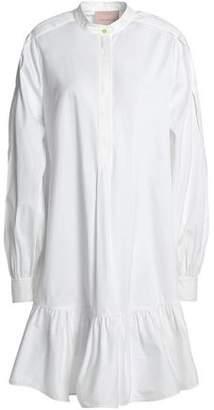 Roksanda Ruffled Cotton-Poplin Shirtdress