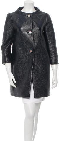 Kate SpadeKate Spade New York Textured Short Coat