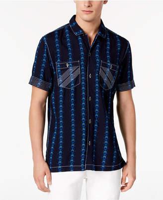 INC International Concepts I.n.c. Men's Chain Print Shirt, Created for Macy's