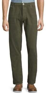 Brunello Cucinelli Army Jeans