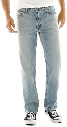 Arizona Mens Straight Relaxed Fit Jean