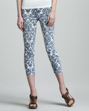 CJ by Cookie Johnson Believe Bar Harbor Cropped Leggings