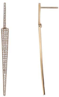 Bony Levy Prism Diamond Dagger Earrings
