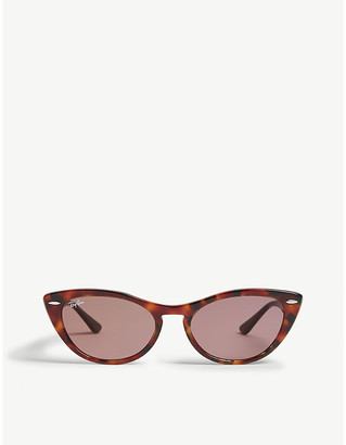 Ray-Ban RB4314 Nina cat-eye-frame sunglasses