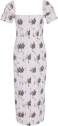 Brock Collection Exclusive Odilia Floral-Print Midi Dress