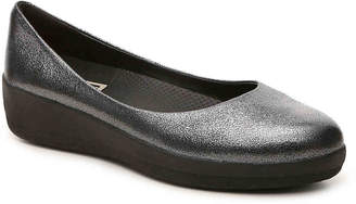 FitFlop Super Ballerina Leather Ballet Flat - Women's