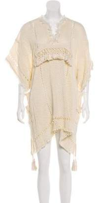 Isabel Marant Knit Fringe-Trimmed Dress