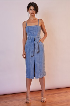 Finders Keepers MIAMI DENIM DRESS washed blue