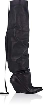 """Taverniti So Ben Unravel Project Women's """"Elephant"""" Leather Over-The-Knee Boots"""