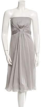 Gucci Silk Strapless Dress w/ Tags