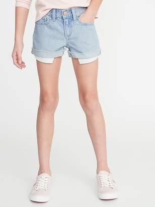 d5cf7f52d Old Navy Exposed Pocket-Bag Denim Shorts for Girls