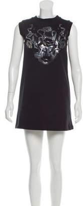 Christopher Kane Shift Knit Dress Black Shift Knit Dress