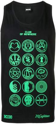Kokon To Zai Scout patch vest top