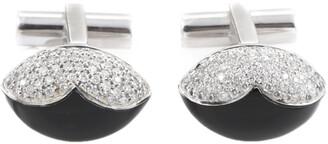 Heritage Ambrosi Ambrosi 18K 2.70 Ct. Tw. Diamond & Onyx Cufflinks