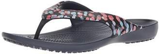 Crocs Women's Kadee II Graphic W Flip-Flop