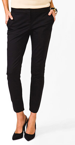 Forever 21 Essential Tulip Ankle Pants
