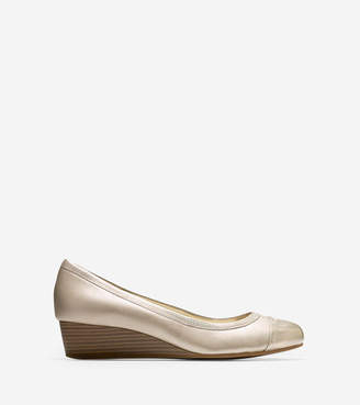 Cole Haan Elsie Cap Toe Wedge (40mm)