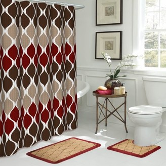 Bath Fusion Clarisse 15-Piece Bathroom Shower Set